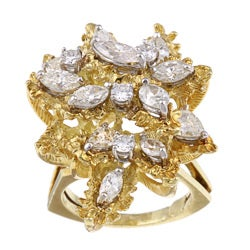 Pre-owned 18k Yellow Gold 3ct TDW Ring (J-K, SI1-SI2)