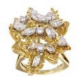 18k Yellow Gold 3ct TDW Ring (J-K, SI1-SI2)