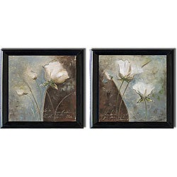 Patricia Pinto 'Magic Garden' 2-piece Framed Canvas Art