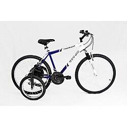 Titan Trailblazer 18-speed Adult Mountain Bike with Stabilizer Wheel Kit