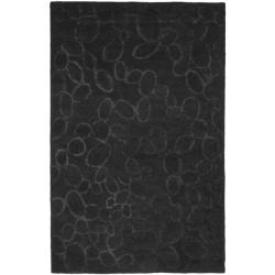 Safavieh Handmade Soho Loops Black New Zealand Wool Rug (8'3 x 11')