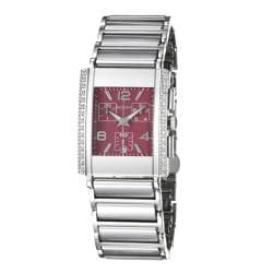 Rado Men's 'Integral' Water-Resistant Ceramic/Steel Quartz Diamond Watch