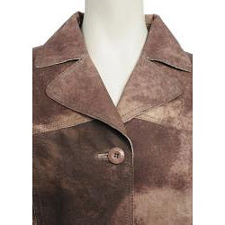 Nuage Women's Printed Suede Jacket