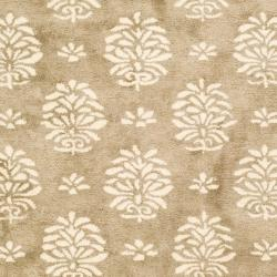 Handmade Soho Seasons Beige New Zealand Wool Rug (9'6 x 13'6)