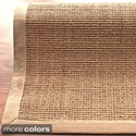 nuLOOM Handmade Alexa Eco Natural Fiber Cotton Border Sisal Rug (5' x 8')