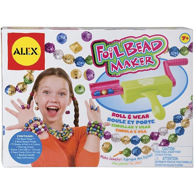 Alex Toys Foil Bead Maker Jewelery Kit
