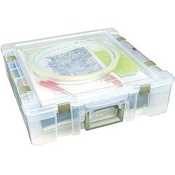 ArtBin Deluxe Clear Super Satchel