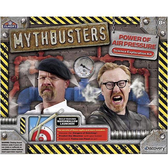 Discovery Kids Mythbusters 'Power of Air Pressure' Science Kit with Activity Guide at Sears.com