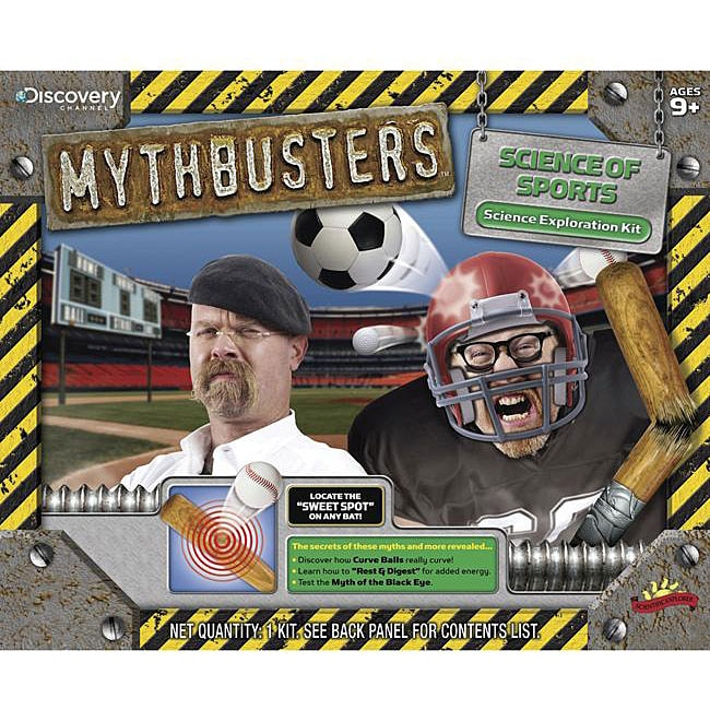 Discovery Kids Poof-Slinky Discovery Channel Mythbusters: Science of Sports Kit at Sears.com