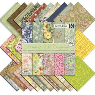 Best of K Scrapbooking Paper Pack (12 x 12)