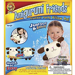 Amigurumi Friends Coco the Dog Pillow Pal Kit