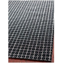 Safavieh Handmade South Hampton Basketweave Black Rug (8' x 11')