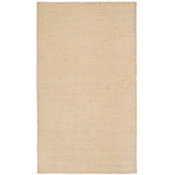 Handmade South Hampton Loops Beige Rug (4' x 6')