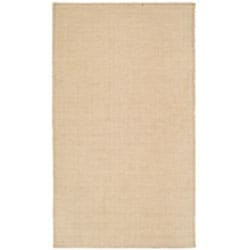 Handmade South Hampton Loops Beige Rug (5' x 8')