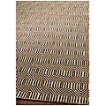 Handmade South Hampton Southwest Brown Rug (4' x 6')
