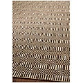 Handmade South Hampton Southwest Brown Rug (5' x 8')