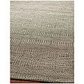 Hand-woven South Hampton Southwest Grey Rug (2' x 8')