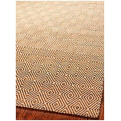 Safavieh Handmade South Hampton Zag Gold Rug (5' x 8')