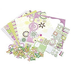 My Friends 12-inch Scrapbook Page Kit