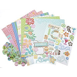 Surf Shop 12-inch Scrapbook Page Kit
