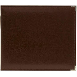 We R Classic Cinnamon Leather Ring Photo Album (8 x 8)