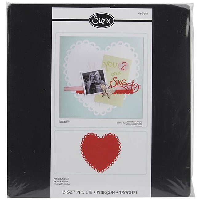 Ellison Sizzix Bigz Big Shot Pro Ribbon Heart Die at Sears.com