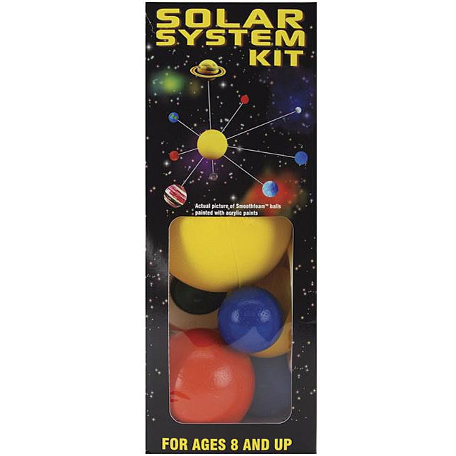 Painted Smoothfoam Solar System Kit