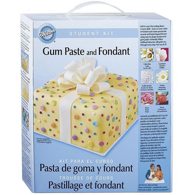 Wilton Gum Paste and Fondant Student Kit