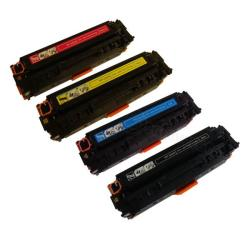 HP Color Set Laser Toner Cartridges (Remanufactured)