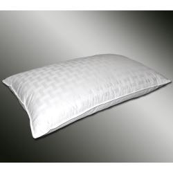 Basketweave 600 Thread Count King-size White Down Pillow