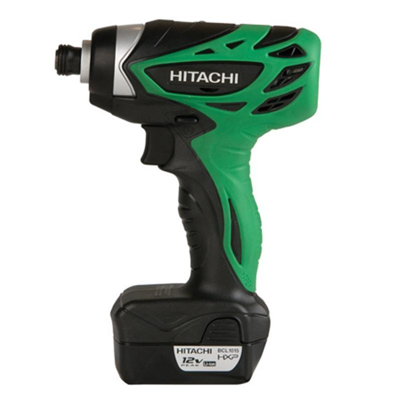 Hitachi 1/4-inch Hex Cordless Impact Driver (Reconditioned)