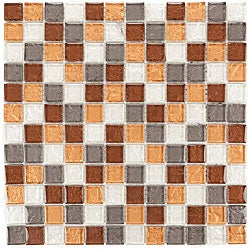 Sand Glass Mosaic E-295 Tiles (Pack of 11)