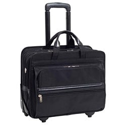McKlein Franklin Nylon 17-inch Detachable-wheel Laptop Case