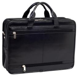 McKlein Elston Leather Double-compartment Laptop Case