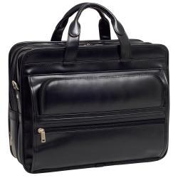 McKlein Elston Leather Double-compartment Laptop Case