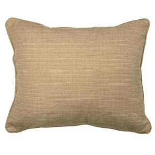 Textured Sand Corded Outdoor Pillows (Set of 2)