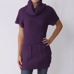 Ci Sono by Adi Junior's Raglan Sleeve Cowl Neck Top