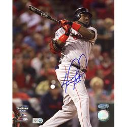 Boston Red Sox David Ortiz ALCS Game 4 Home Run Autographed Photo