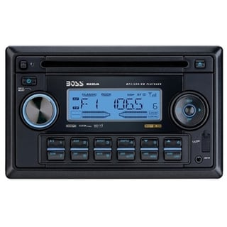 Boss 822UA Car CD Player - 320 W RMS - iPod/iPhone Compatible - Doubl