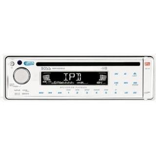 Boss MR1525UI Marine CD/MP3 Player - iPod/iPhone Compatible - Single