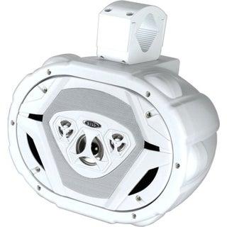 """Boss Audio MRWT69W Marine 6"""" x 9"""" 4-way 550-watt Waketower"""
