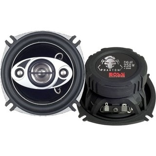 Boss PHANTOM P45.4C Speaker - 125 W RMS - 250 W PMPO - 4-way - 2 Pack