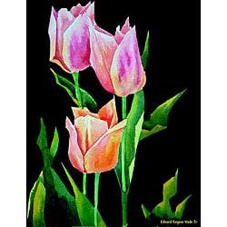 Ed Wade, Jr. 'Tulips 1' Art Print