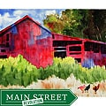 Ed Wade, Jr. 'The Red Barn' Art Print