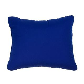Canvas Blue Knife-edge Indoor/ Outdoor Pillows with Sunbrella Fabric (Set of 2)