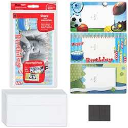 GBC PhotoPop Self Seal Magnetic Photo Frames (Pack of 6)