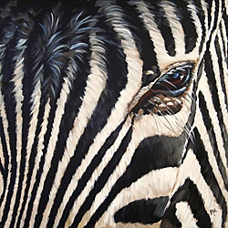 Max 'Zebra' Canvas Art