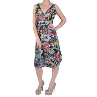 Women's Plus Size Strapless Floral Sundress