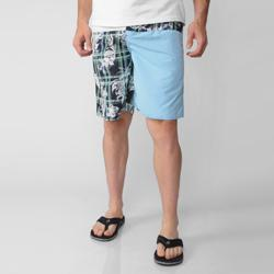 Island Joe Men's White Floral Print Swim Shorts