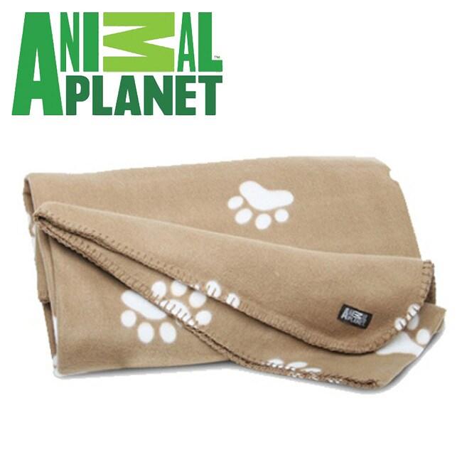 Animal Planet Ultra-Soft Pet Blanket Tan